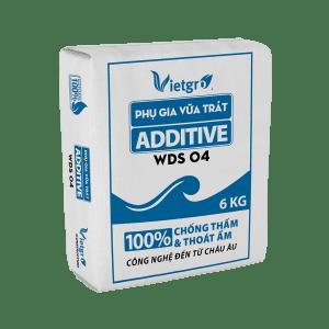 Phụ Gia Vữa Trát ADDITIVE - WDS 04