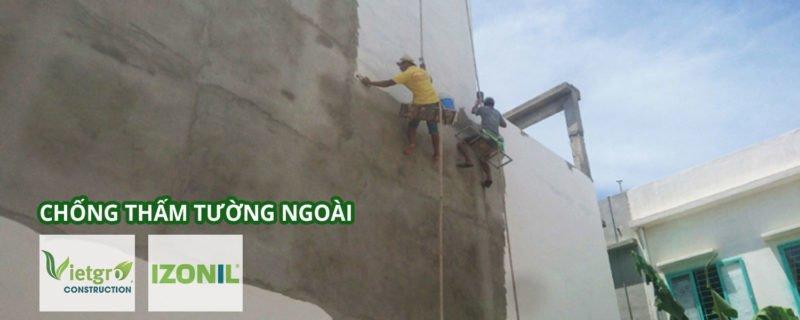 chống thấm tường ngoài