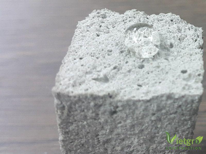 Vữa tô trộn với Additive WDS 04
