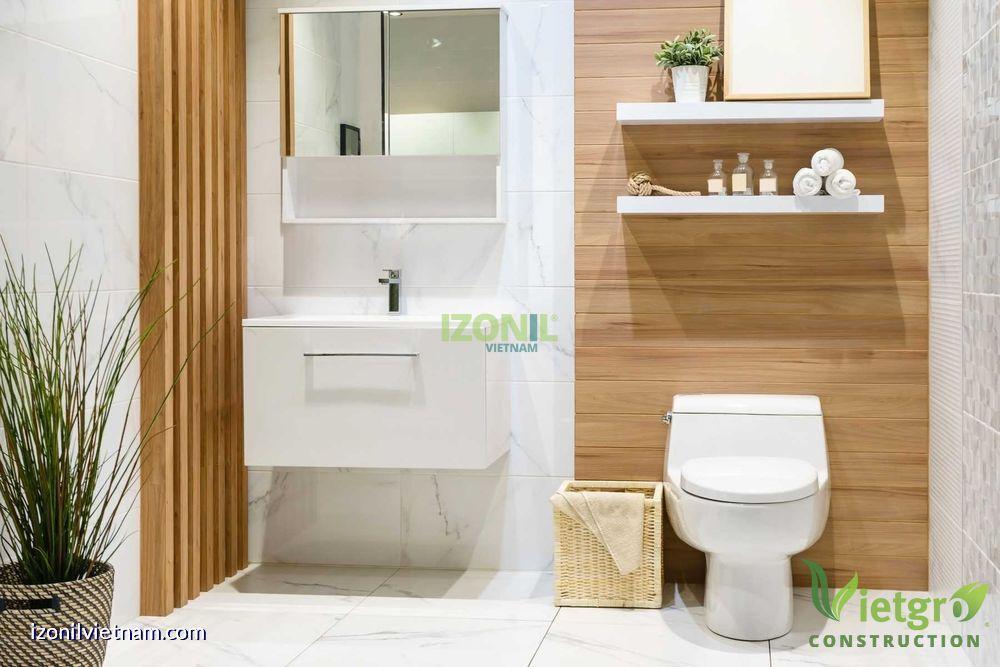 chống thấm nhà vệ sinh sạch đẹp