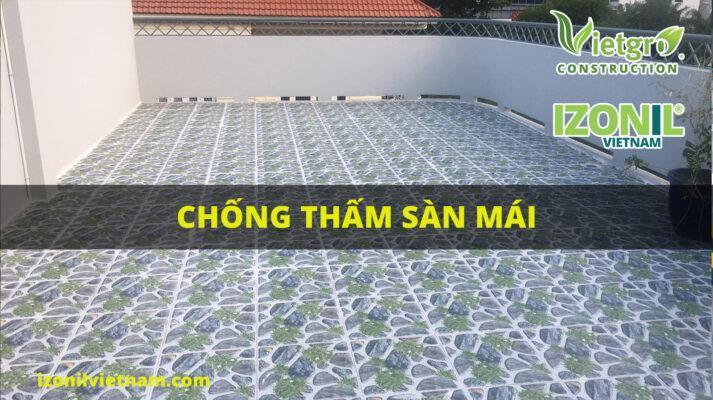 công trình chống thấm sàn mái quận 6